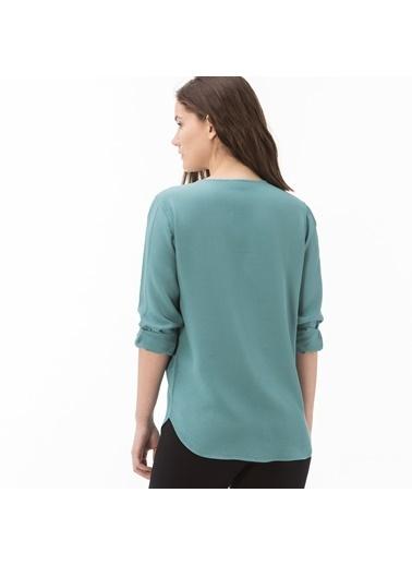 Lacoste Kadın  Gömlek CF0902.02Y Yeşil